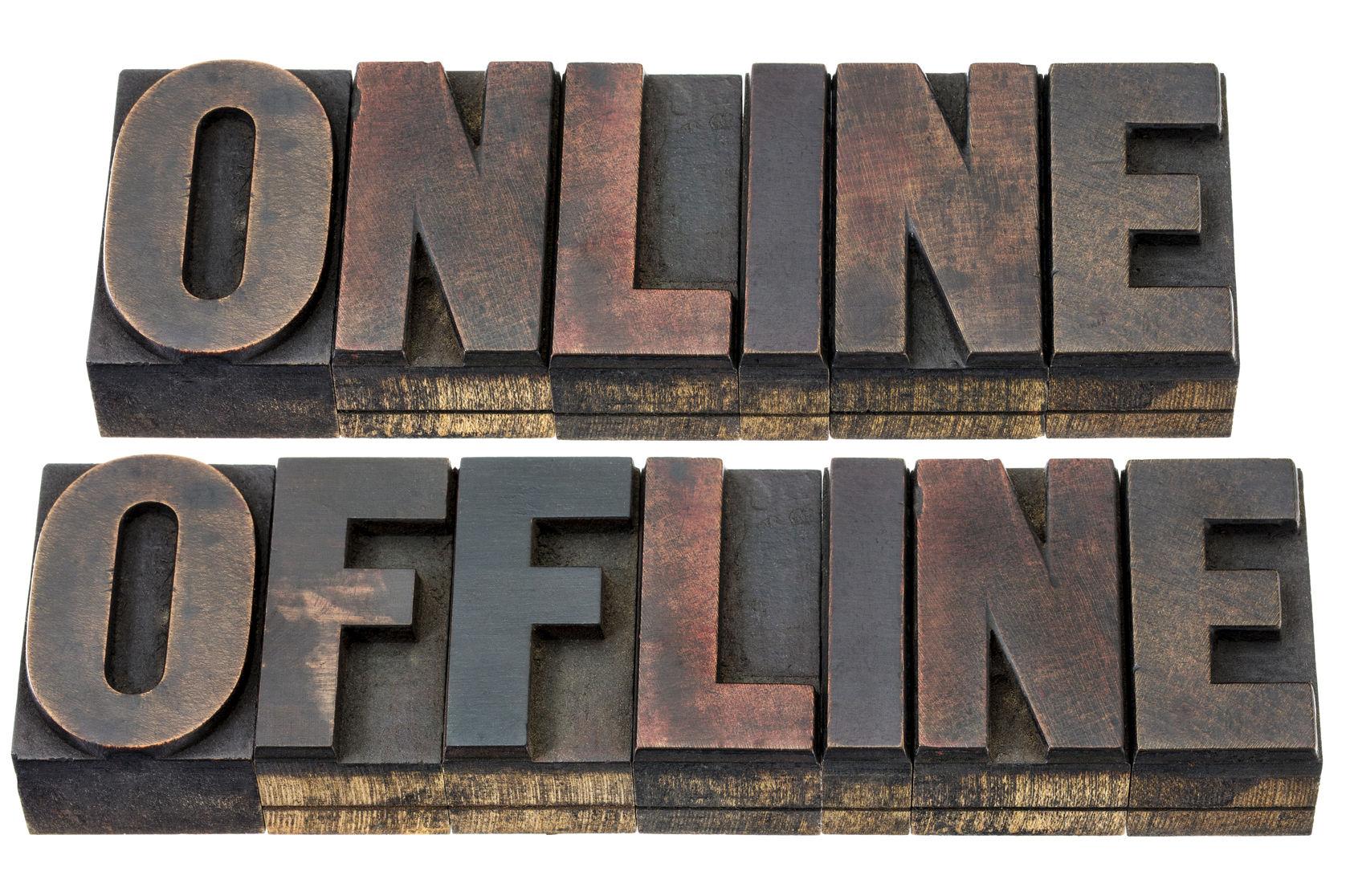 Erst online, dann offline, dann beides
